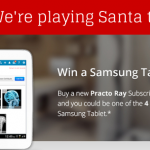 This Christmas win a Samsung Tablet for your Practice